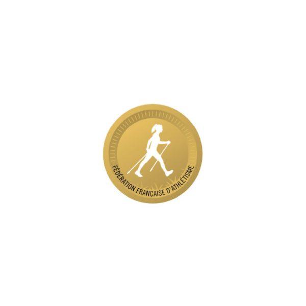 Lot de 10 stickers - Bâtons d'or
